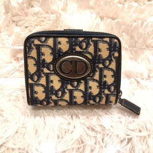 Authentic CHRISTIAN DIOR TROTTER WALLET